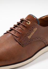 Pantofola d'Oro - LUGO UOMO LOW - Casual lace-ups - tortoise shell - 5