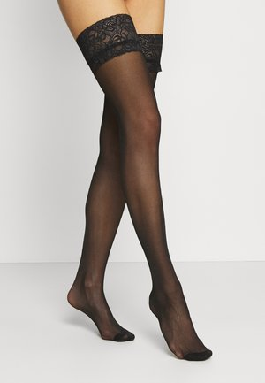 FIERCE STOCKINGS - Nadkolenky - black