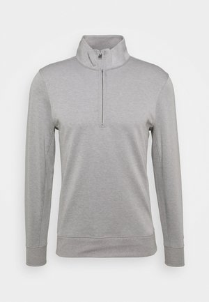 DRY FIT PLAYER HALF ZIP  - Sweatshirt - dust/brushed silver