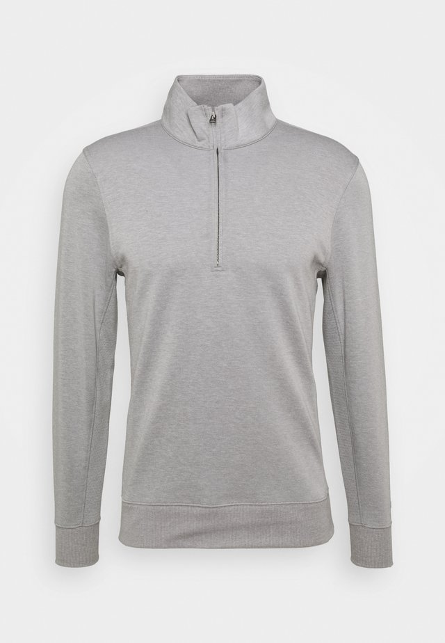PLAYER HALFZIP - Sweatshirt - dust/brushed silver