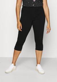 Zizzi - JABELONE CAPRI - Shorts - black - 0