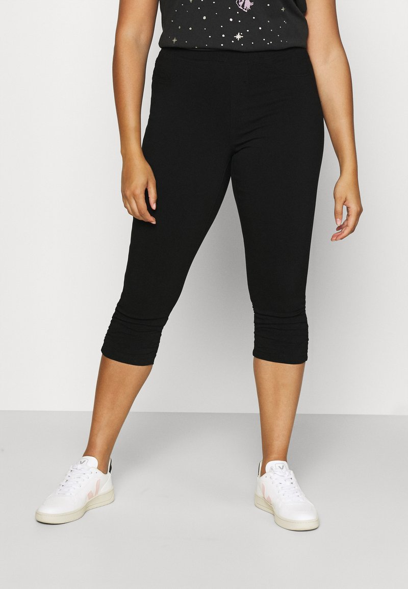 Zizzi - JABELONE CAPRI - Shorts - black