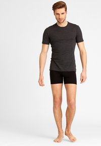 Icebreaker - ANATOMICA  - Basic T-shirt - jet heather/black - 1