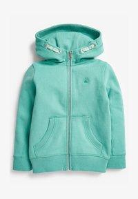 Next - FLURO - Zip-up hoodie - teal - 0