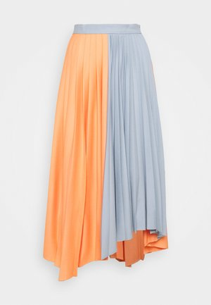 VEGGIA - Áčková sukně - pink