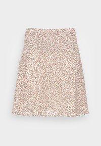 Moss Copenhagen - FIANNA SKIRT - A-line skirt - sand - 3