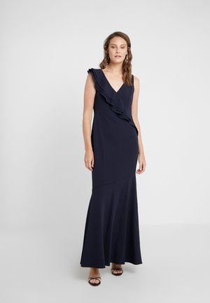 LUXE TECH LONG GOWN - Maxikleid - lighthouse navy