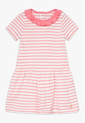 ROBE  - Jersey dress - marshmallow/cupcake