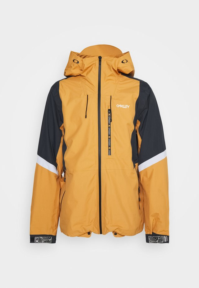 GUNN SHELL - Snowboardjacka - gold yellow