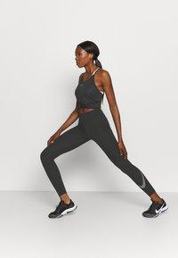 Nike Performance - ONE TANK - Top - black/white - 1