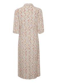 Soaked in Luxury - Shirt dress - whisper white splash print - 5