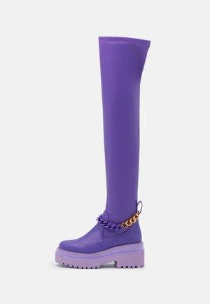 LEONIE HANNE - Ylipolvensaappaat - violet