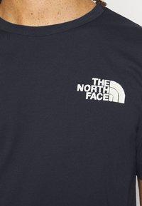 The North Face - HIMALAYAN BOTTLE SOURCE TEE - Triko spotiskem - aviator navy - 3