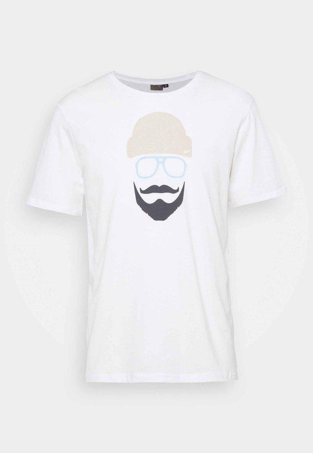 ALEDO - Print T-shirt - white