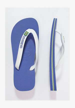 BRASIL LOGO - Pool shoes - marine blue