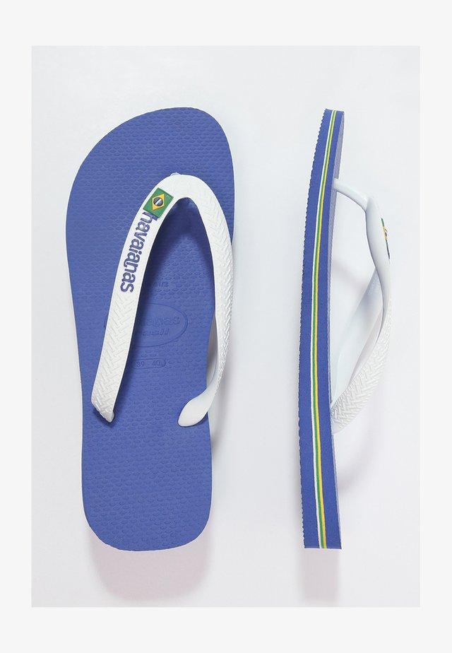 BRASIL LOGO - Japonki kąpielowe - marine blue