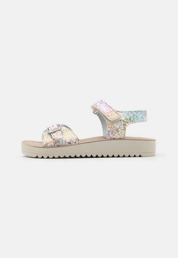ODYSSA - Sandals - blanc/multicolor