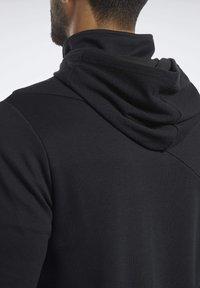 Reebok - TRAINING SUPPLY CONTROL HOODIE - Hoodie - black - 5