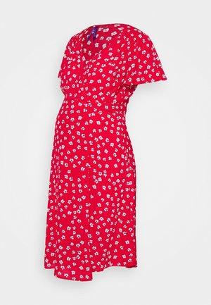 ATARA - Žerzejové šaty - red
