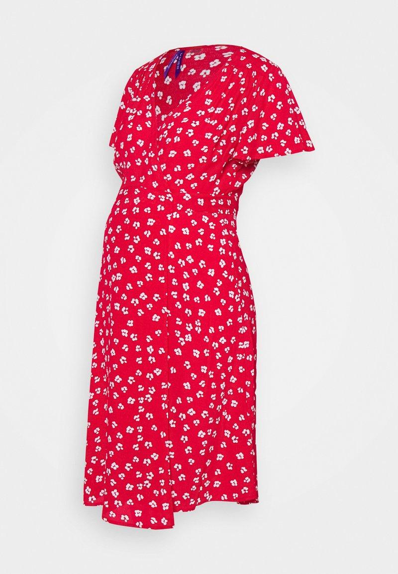 Seraphine - ATARA - Žerzejové šaty - red