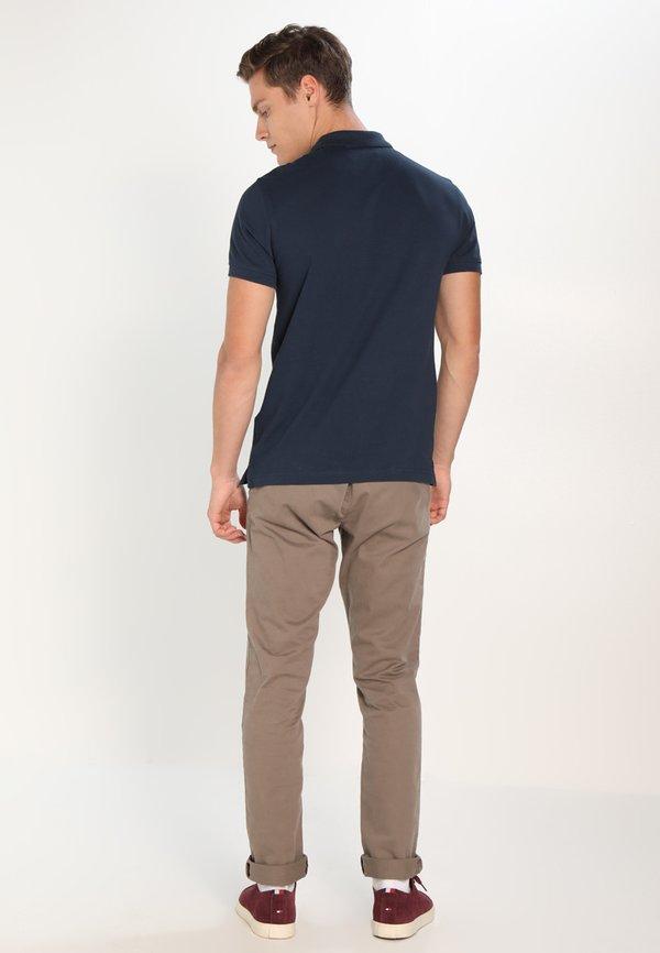 Pier One Koszulka polo - dark blue/granatowy Odzież Męska MAOH