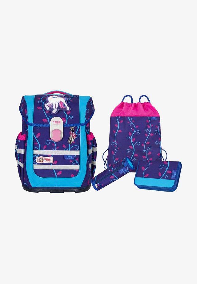 ERGO COMPLETE -SET 4TLG. - School set - dark purple