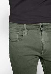 G-Star - 3301 SLIM SHORT - Shorts di jeans - dark lever - 4