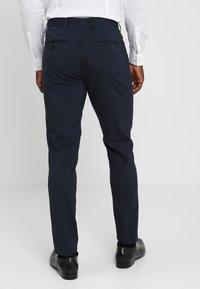 Casual Friday - Oblekové kalhoty - navy - 2