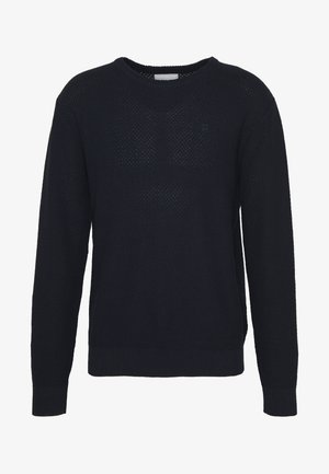 HENRI STRUCTURE - Jumper - dark navy