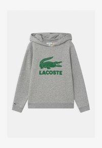 Lacoste - LOGO UNISEX - Mikina skapucí - argent - 0
