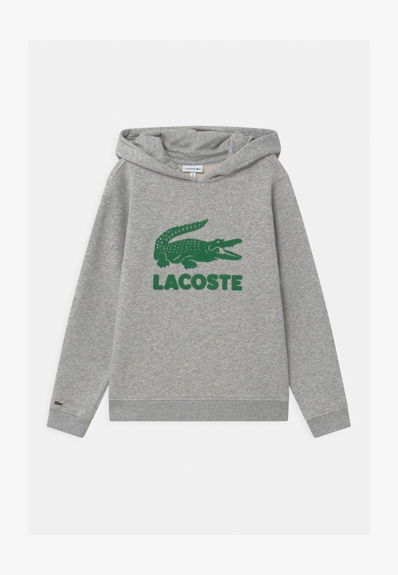 Lacoste - LOGO UNISEX - Mikina skapucí - argent