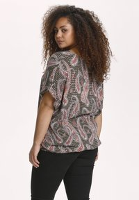 Kaffe Curve - KCARKY - Blouse - grape leaf paisley print - 2