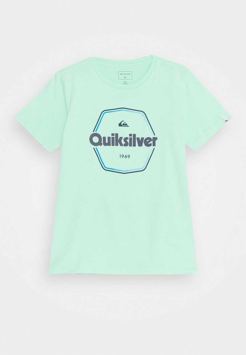 Quiksilver - HARD WIRED  - T-shirt con stampa - cabbage