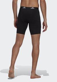 adidas Performance - BRIEF 2 PACK - Pants - black/scarlet - 4