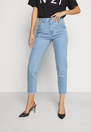 Relaxed fit jeans - degradable blue