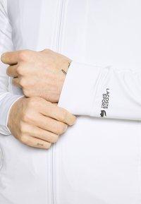 Lacoste Sport - COURT JACKET - Verryttelytakki - white/black - 6