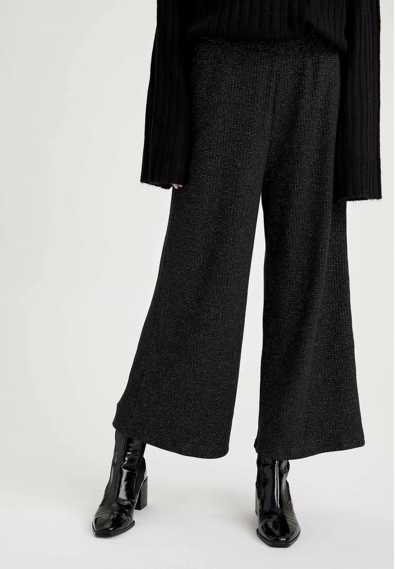 DeFacto - Trousers - anthracite