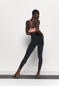 Nike Performance - LUXE LAYERED 7/8 - Tights - black/dark smoke grey - 2