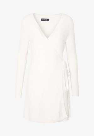 SWEATER DRESS - Cardigan - cream