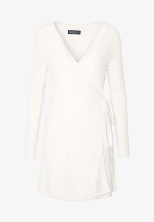 SWEATER DRESS - Gilet - cream