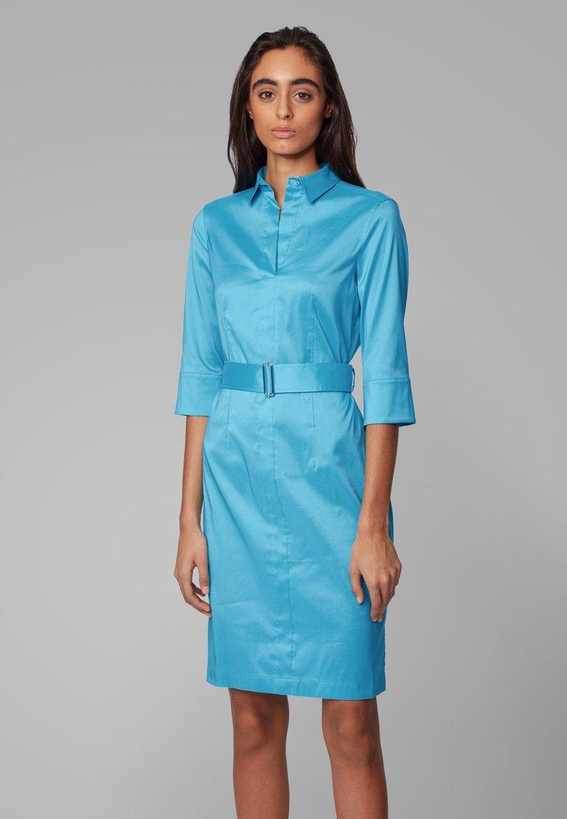 BOSS - DALIRI1 - Shirt dress - blue
