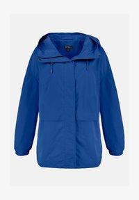Ulla Popken - GRANDES TAILLES VESTE  - Outdoor jacket - bleu jean foncé - 1