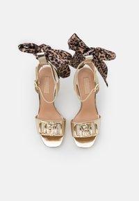 Liu Jo Jeans - HEBE - Platform sandals - light gold - 5