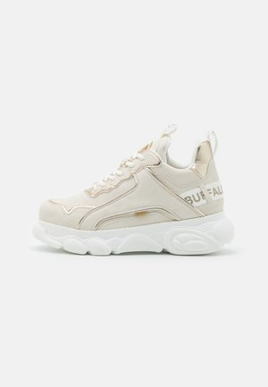 VEGAN CHAI - Sneakers laag - offwhite/gold