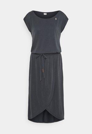 ETHANY - Žerzejové šaty - navy