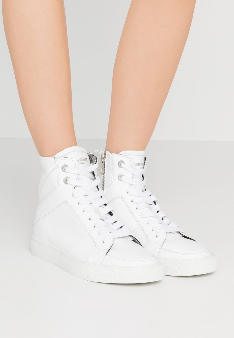 Zadig & Voltaire - High-top trainers - blanc