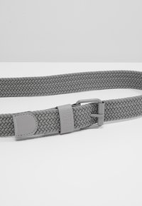 Urban Classics - ELASTIC BELT 2 PACK - Flätat skärp - black/grey - 4