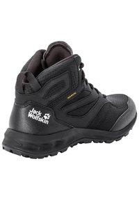 Jack Wolfskin - WOODLAND TEXAPORE MID - Hiking shoes - black - 2