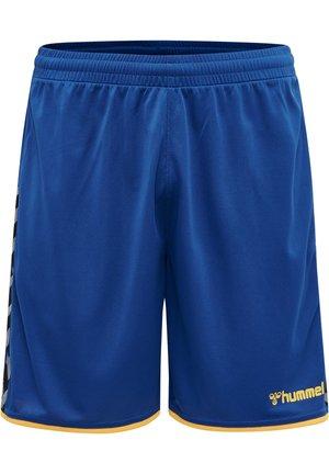 HMLAUTHENTIC  - Korte sportsbukser - true blue/sports yellow