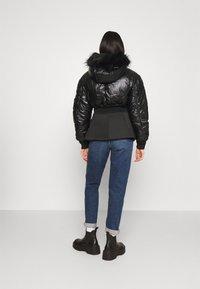 Diesel - W-ISOKE-SHINY - Winter jacket - black - 2